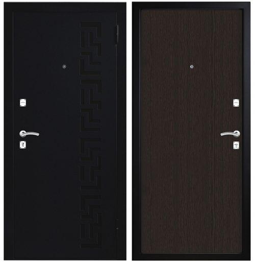 Labas un lētas metāla durvis M100