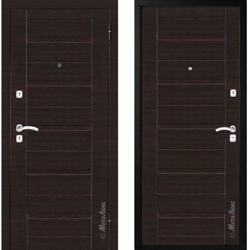 Metal door for apartment M300