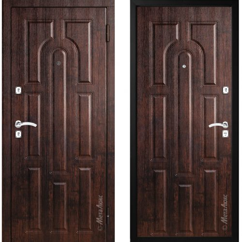 Metal door for house and apartment M303
