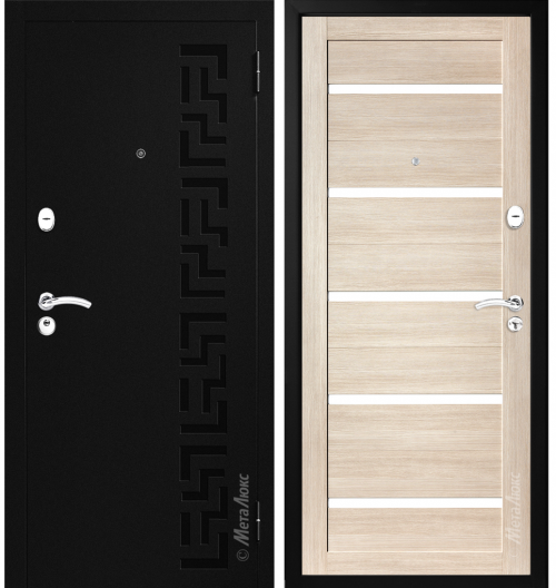 Metal door for house and apartment M524