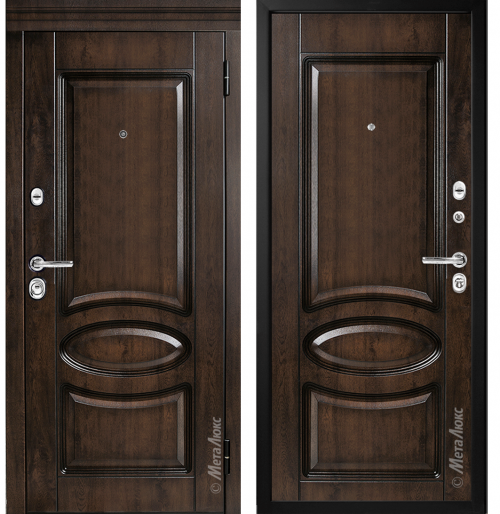 Железные двери для квартиры или дома M71 МЕТАЛЮК