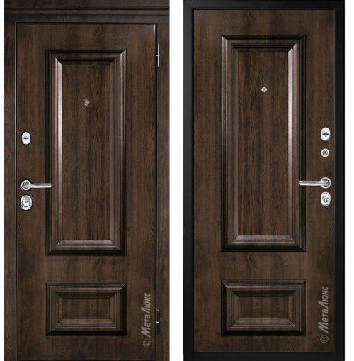 Metāla durvis dzīvoklim M75