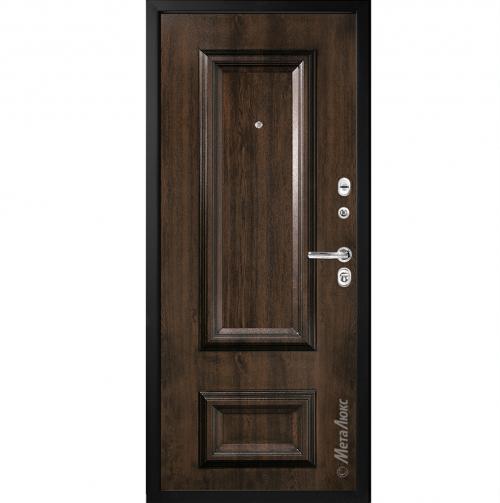 Steel doors for an apartment M75/1 METALUKS