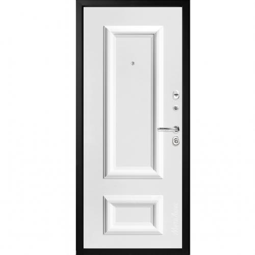Steel doors for an apartment M75/3 METALUKS