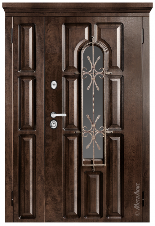 Custom size metal doors for apartment and house