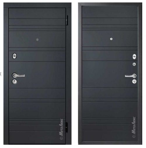 Metal doors for apartments and houses M-Lux