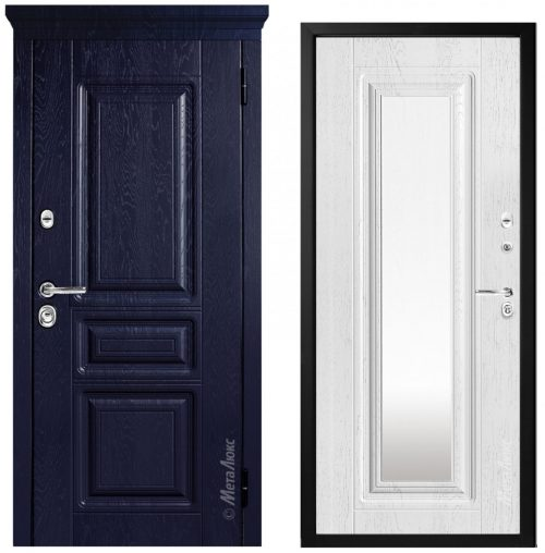 Steel doors for an apartment M600Z