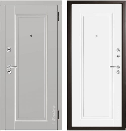 Metāla durvis dzīvoklim M59/5