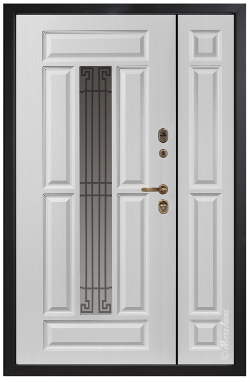 Nestandarta metāla durvis mājai