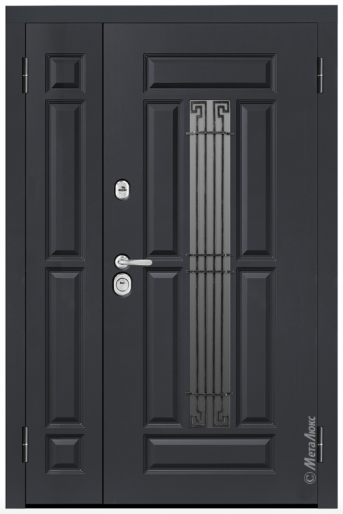 custom size metal entrance doors for house