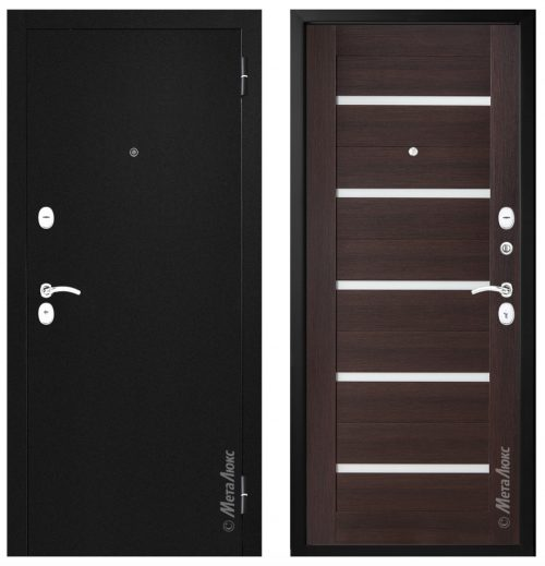Metal door for house and apartment M555