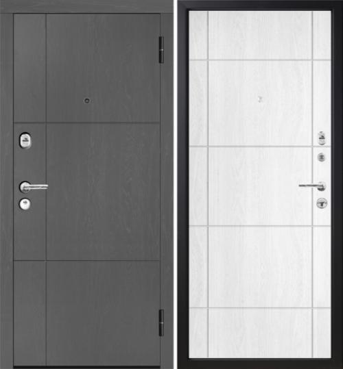 Metāla durvis ar mūsdienīgu dizainu M352/1.