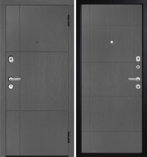 Metāla durvis ar mūsdienīgu dizainu M352.