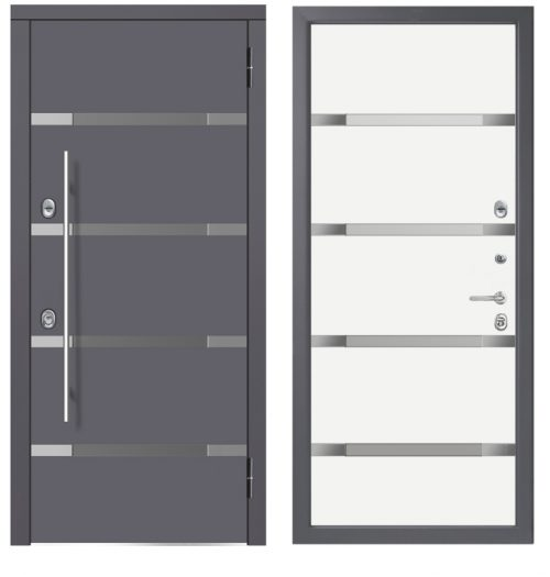 Metal doors for house CM1105/5 E