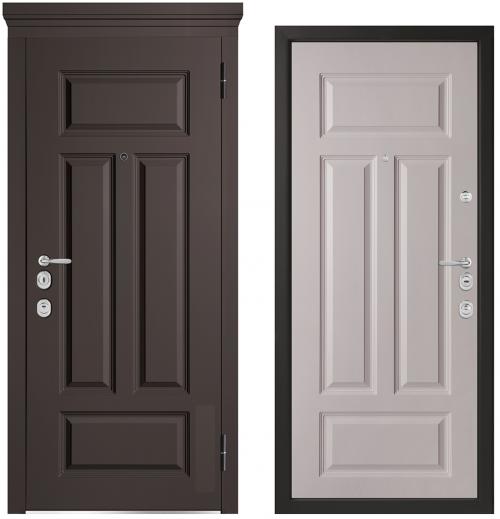 Металлические двери для квартиры или дома M1002/10 E