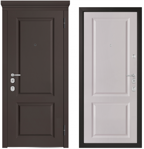 Metal doors for an apartment or house M1003/10 E