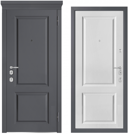 Metal doors for an apartment or house M1003/5 E