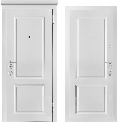 Metal doors for an apartment or house M1003/7 E