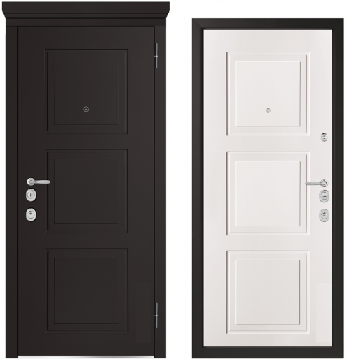 Металлические двери для квартиры или дома M1010/1 E