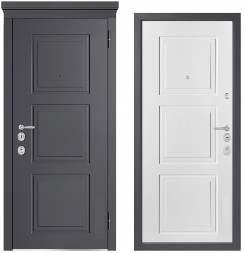 Metal doors for an apartment or house M1010/5 E
