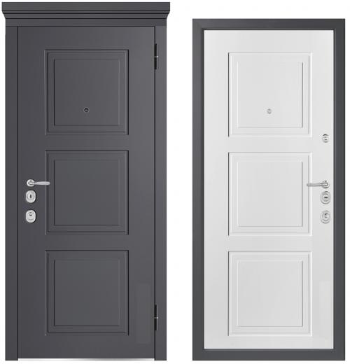 Металлические двери для квартиры или дома M1010/5 E