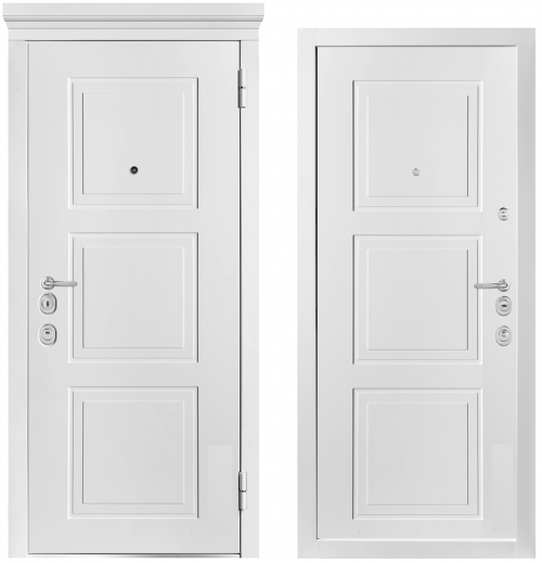 Metal doors for an apartment or house M1010/7 E