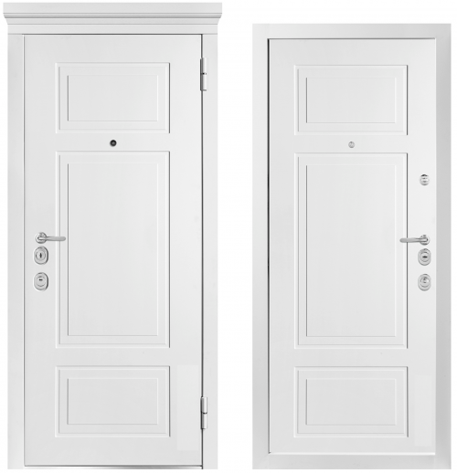 Metal doors for an apartment or house M1011/7 E