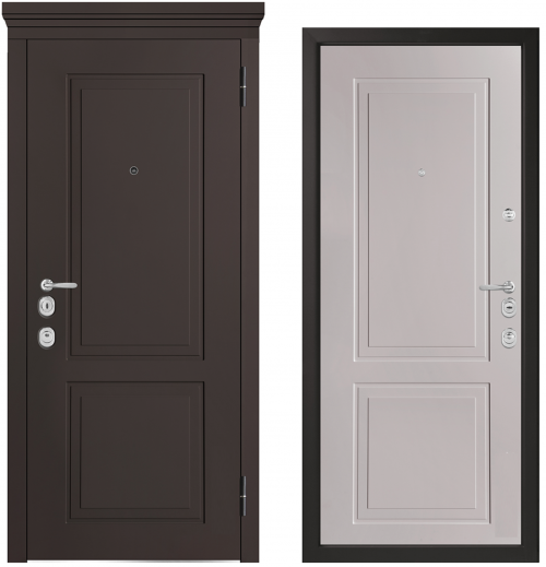 Metal doors for an apartment or house M1012/10 E