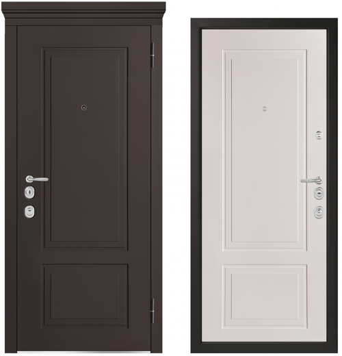 Metal doors for an apartment or house M1013/10 E