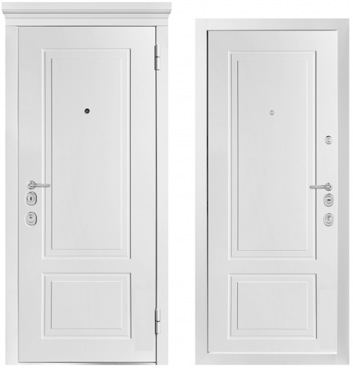 Metal doors for an apartment or house M1013/7 E