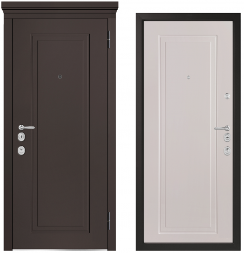 Metal doors for an apartment or house M1014/10 E