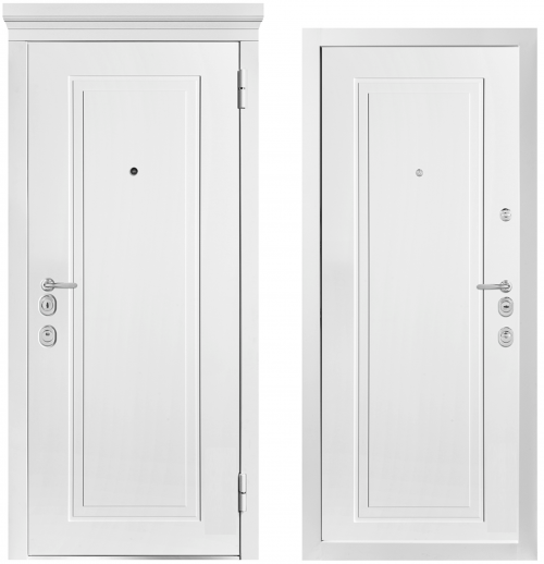 Metal doors for an apartment or house M1014/7 E