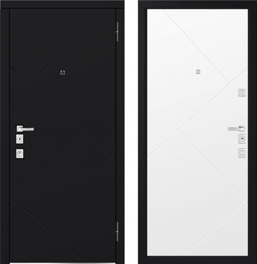 Metal doors for an apartment M1100/11