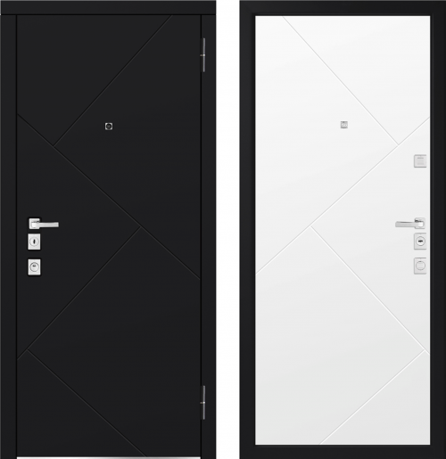 Металлические двери для квартиры M1100/11