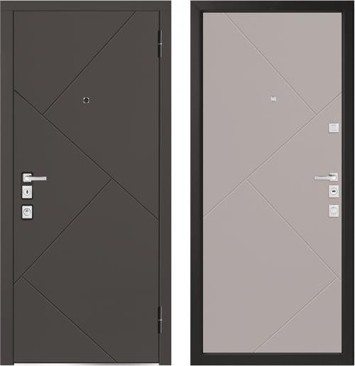 Metal doors for an apartment M1100/7