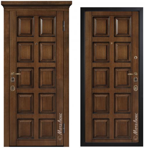Наружные металлические двери для квартиры или дома M1700/9