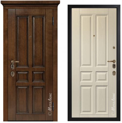 Наружные металлические двери для квартиры или дома M1701/15
