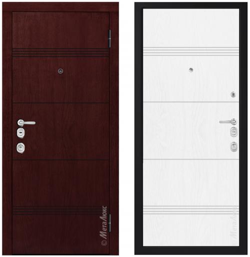 Наружные металлические двери для квартиры или дома M1705/19