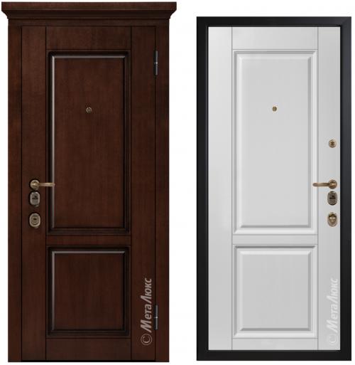 Наружные металлические двери для квартиры или дома M1706/23