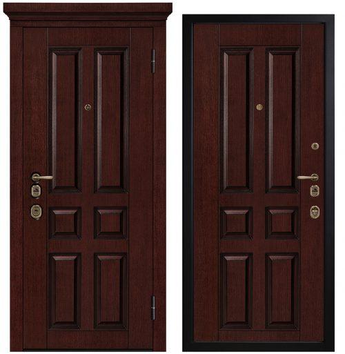 Наружные металлические двери для квартиры или дома M1701/10