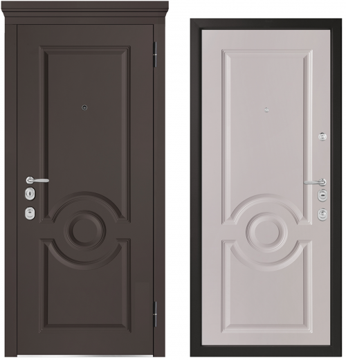 Metal doors for an apartment or house M1000/10 E