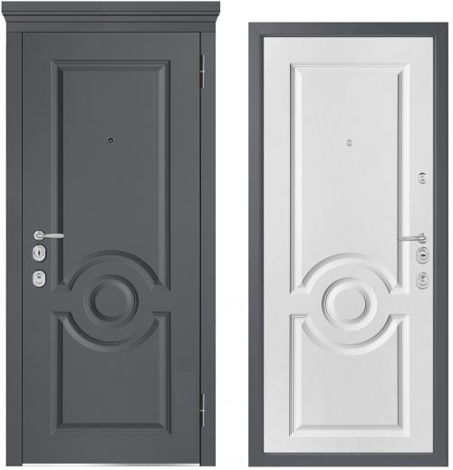 Металлические двери для квартиры или дома M1000/5 E