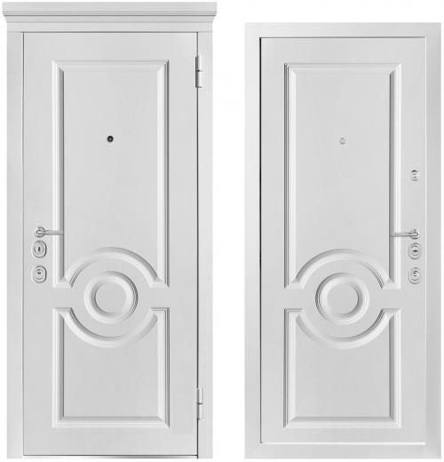 Металлические двери для квартиры или дома M1000/7 E