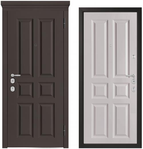 Металлические двери для квартиры или дома M1001/10 E