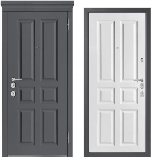 Металлические двери для квартиры или дома M1001/5 E