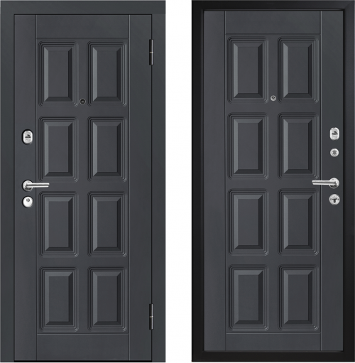 Metal doors for house and apartment M396