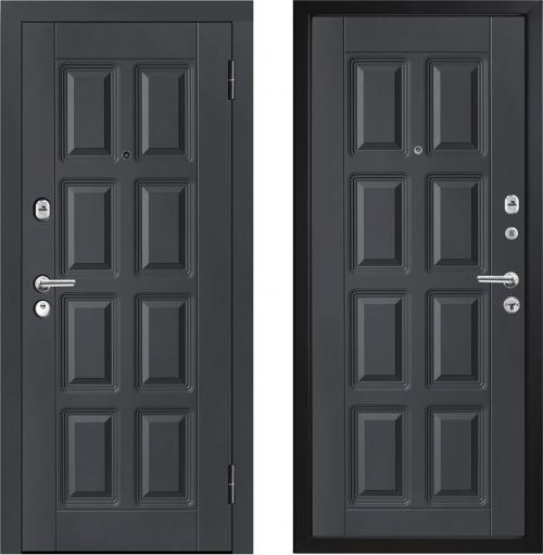 Наружные металлические двери для квартиры или дома M396