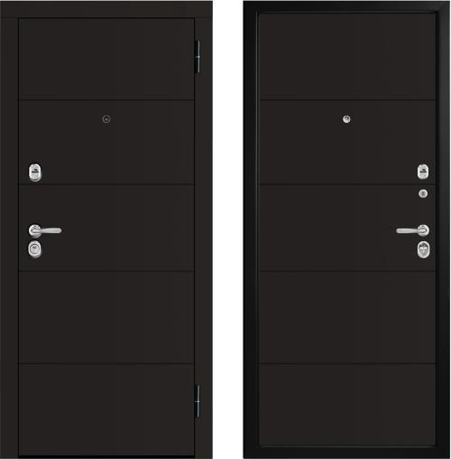 Moisture-resistant metal entrance doors M442 E
