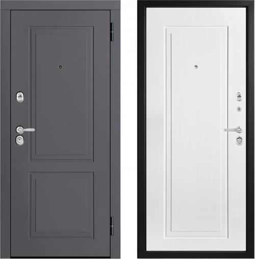 Moisture-resistant metal entrance doors M444/5 E