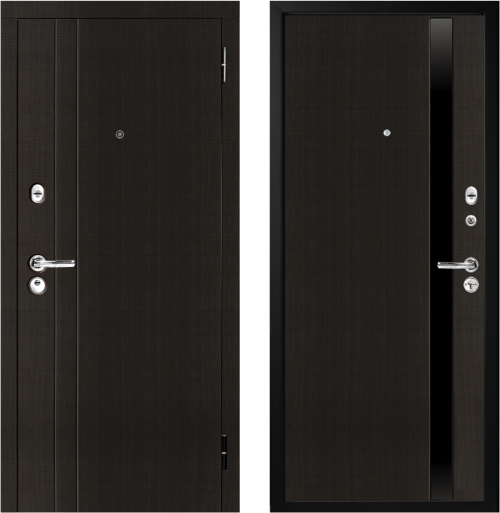 Metal doors M33 for an apartment from M-Lux.